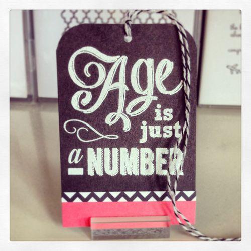 Eat cake tag