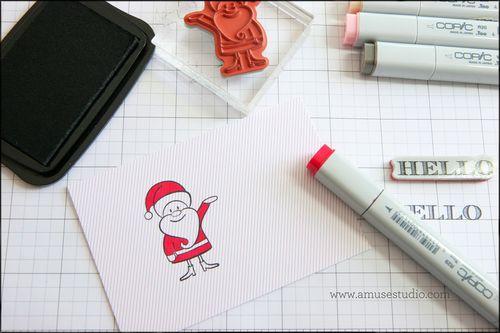 Coloring santa