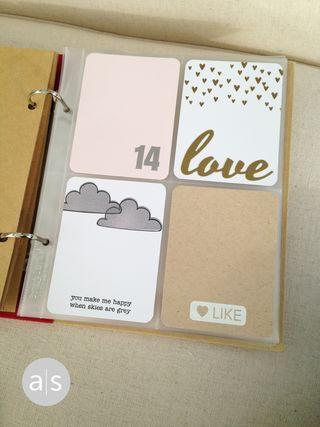 Jodi's project life cards x4