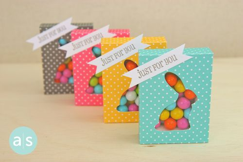 A Muse Studio Candy Box Die with bunny cut out four no coco