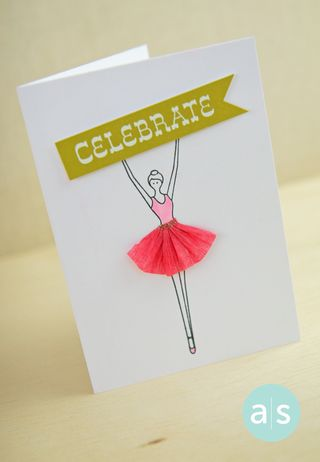 A Muse Studio Under the Big Top Celebrate card
