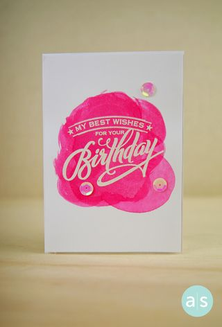 A Muse Studio Hooray It's Your Day May 2014 Birthday Hostess EXCLUSIVE stamp set copy