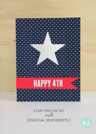 A Muse Studio Happy 4th of July Card