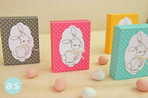 A Muse Studio Candy Box with Stamped bunny four horizontal FINAL