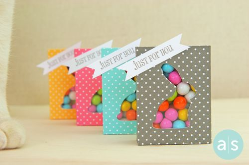 A Muse Studio Candy Box Die with bunny cut out four plus coco