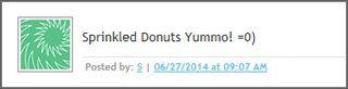 Donut winner