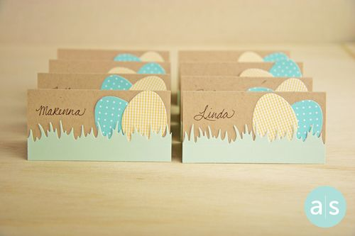 A Muse Studio Easter place cards hor