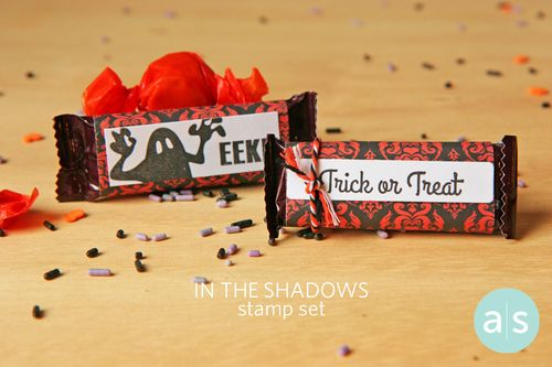 A Muse Studio In the Shadows Stamp Set Halloween treats