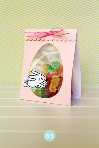 A Muse Studio February Collection Somebunny Loves You Hoppy Treat Bag