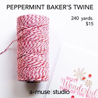 Peppermint Baker's Twine