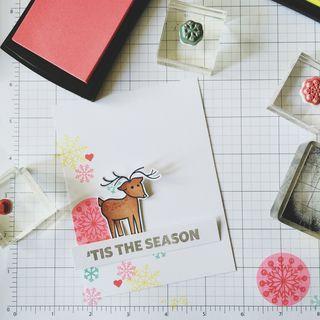 A Muse Studio Santa and Friends - reindeer