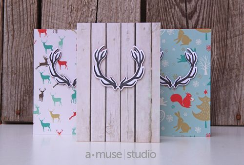 A Muse Studio November 15 Collection - Hello Deer on 6x6
