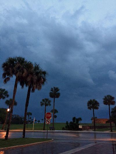 LAC St Augustine Stormy sky