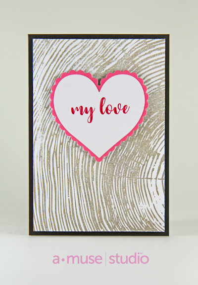 A Muse Studio Love Story My Love Card