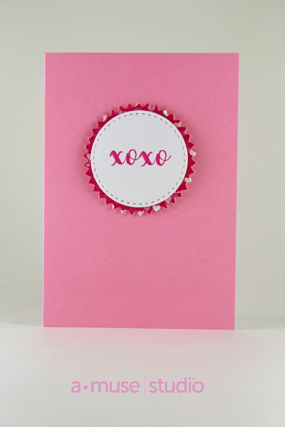 A Muse Studio Love Story xoxo Card