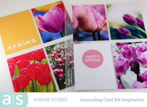 A Muse Studio Welcome Spring Digi Kit - scrapbook page