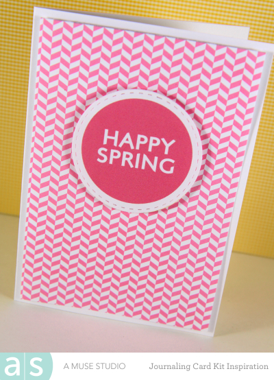 A Muse Studio Welcome Spring Digi Kit -happy spring a