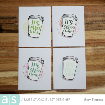 It's Coffee Time by Amy Tsuruta for A Muse Studio