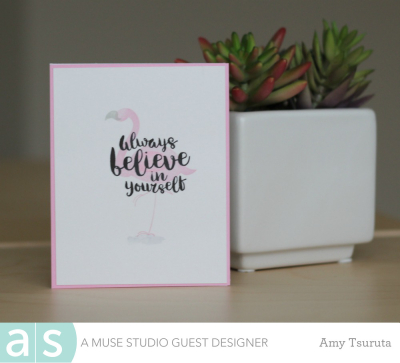 Always believe by Amy Tsuruta for A Muse Studio