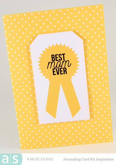 A Muse Studio Momlife Digital Kit Best Mom Card Yellow