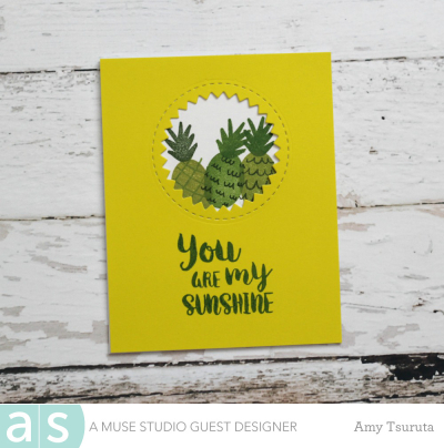 You are my sunshine by Amy Tsuruta for A Muse Studio