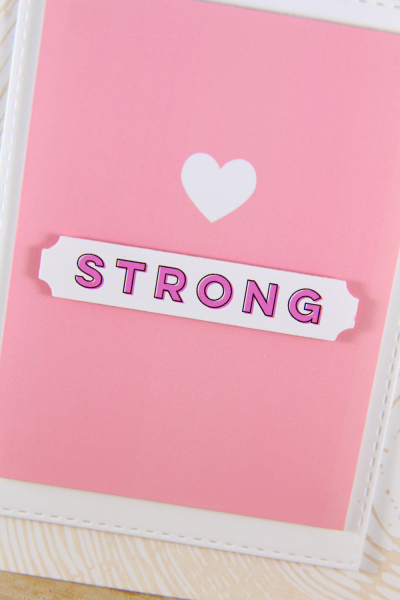 A Muse Studio Fight Like A Girl Digit Kit - heart strong a