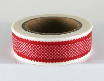 Cherry Lace Washi Tape Photo
