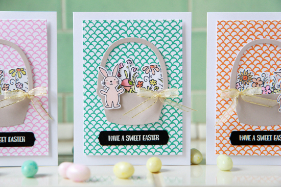 A Muse Studio Sweet Easter basket trio HZ
