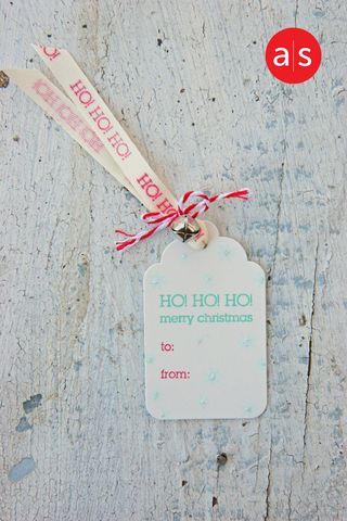 A Muse Studio Holiday Tag Kit - simple