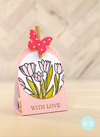 A Muse Studio candy package Happiness Blooms colored with splash