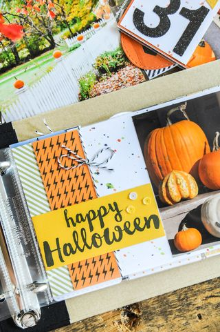 A Muse Studio October Collection - Halloween Wishes page