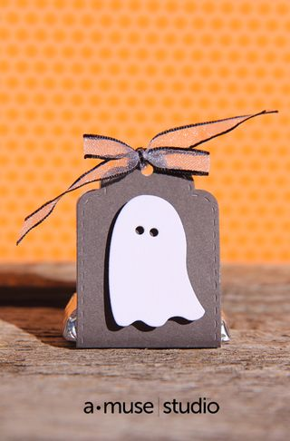 A Muse Studio Spooky Trio slate Candy Package