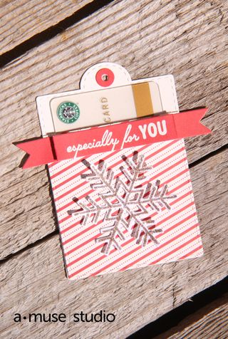 A Muse Studio Especially For You Gift Card Holder