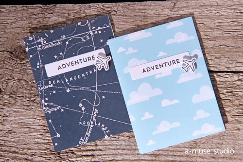 A Muse Studio Make It Happen Adventure booklet duo