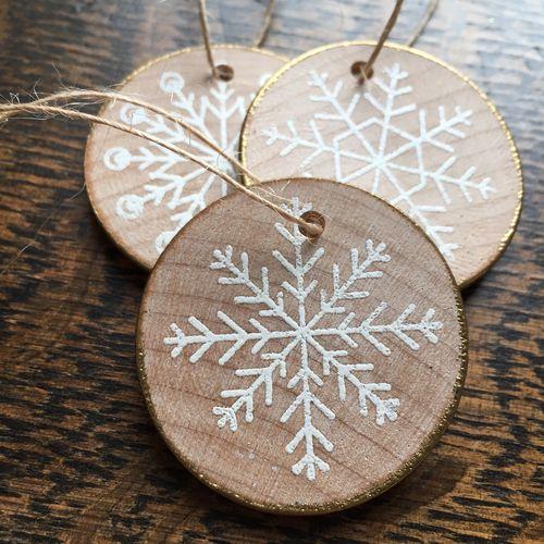 Wood tags