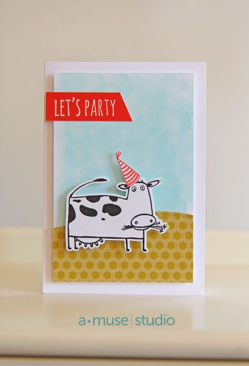 A Muse Studio Go Hog Wild - Let's Party Cow