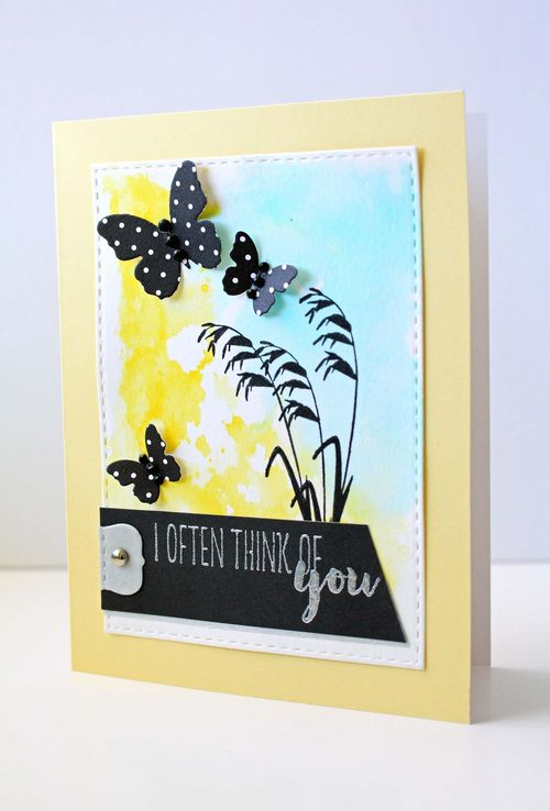 Botanical Silhouettes card