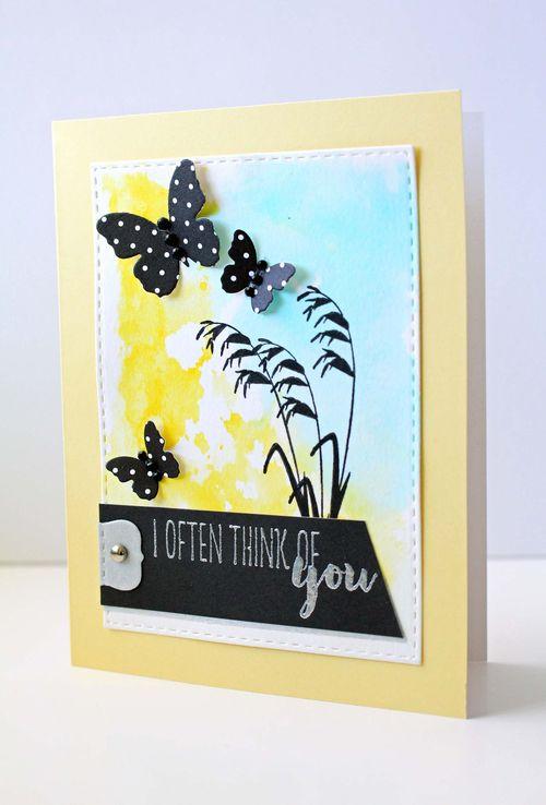 Botanical Silhouettes card