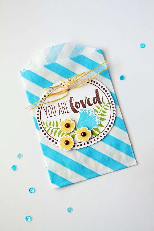 Botanical Silhouettes treat bag