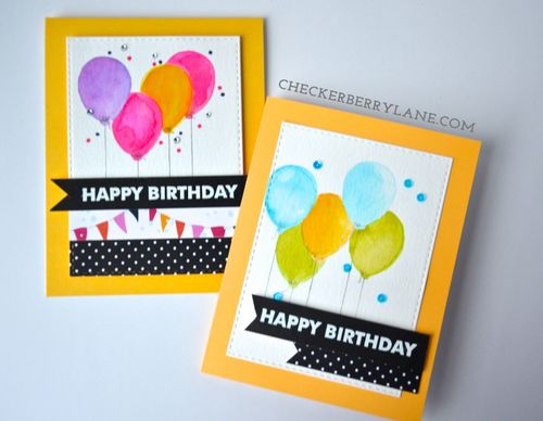 Birthday Cards by Kristine Vicente
