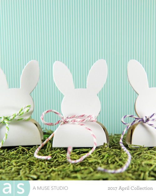 A Muse Studio Bunny Candy Package - white