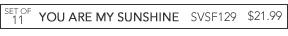 SVSF129 You Are My Sunshine