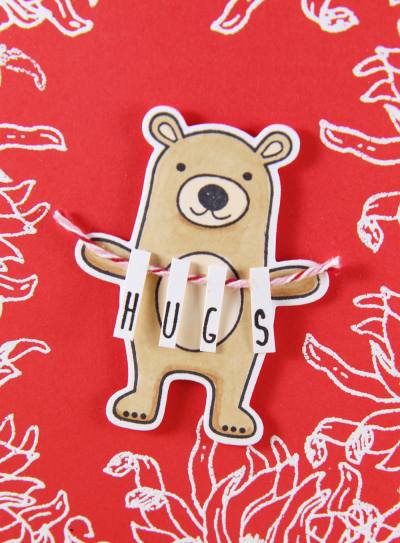 A Muse Studio Time To Party bear hugs banner Z