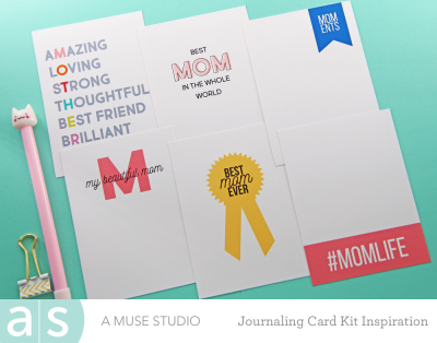 A Muse Studio Momlife Digital Kit compilation