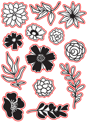 Summer Blooms Die set