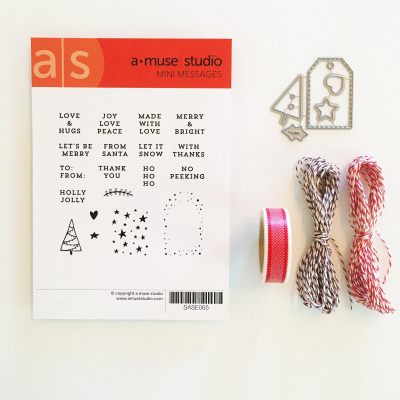 Mini Messages Tag Kit photo