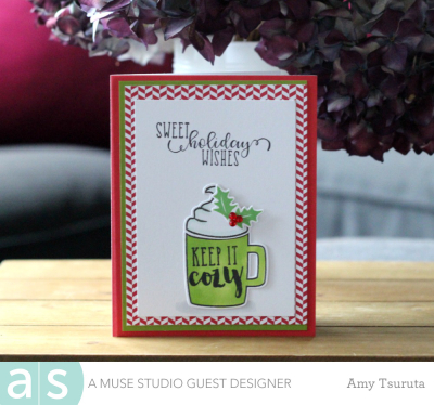 Sweet holiday wishes by Amy Tsuruta for A Muse Studio