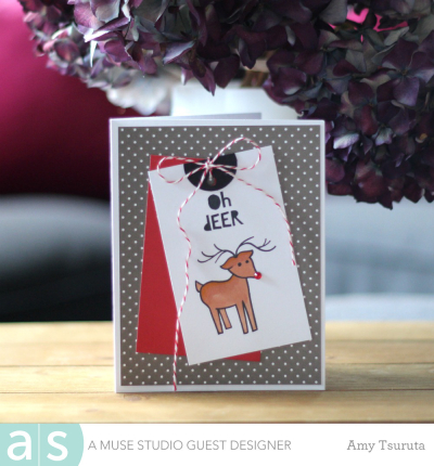 Oh deer by Amy Tsuruta for A Muse Studio