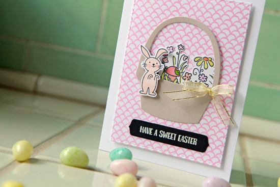 A Muse Studio Sweet Easter basket pink HZ