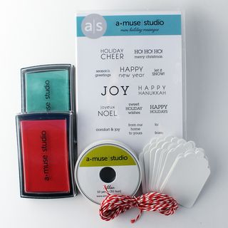 Mini holiday tag kit basic 2